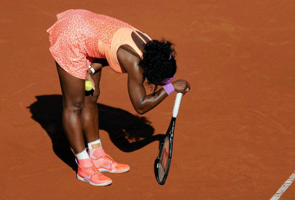 Serena Williams kiepsko się czuła w półfinale z Timeą Bacsinszky