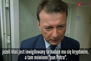 """Mariusz Błaszczak """"pobił"""" sam siebie. Oto ministerialna odpowiedź na poważne pytania naszej dziennikarki o inwigilację"""
