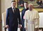 """Duda po spotkaniu z papie�em Franciszkiem: """"Je�li kto� przyje�d�a i potrzebuje pomocy, powinni�my jej udzieli�"""""""