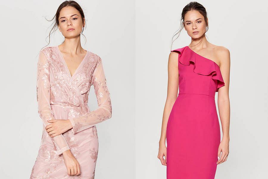 c3ad6b4fe5 Różowa sukienka - jak ją wystylizować