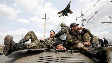 Ukraińscy żołnierze pod Kramatorskiem