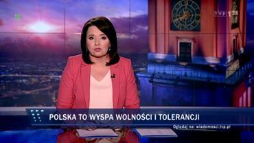 'Wiadomości' TVP tłumaczą słowa prezesa PiS