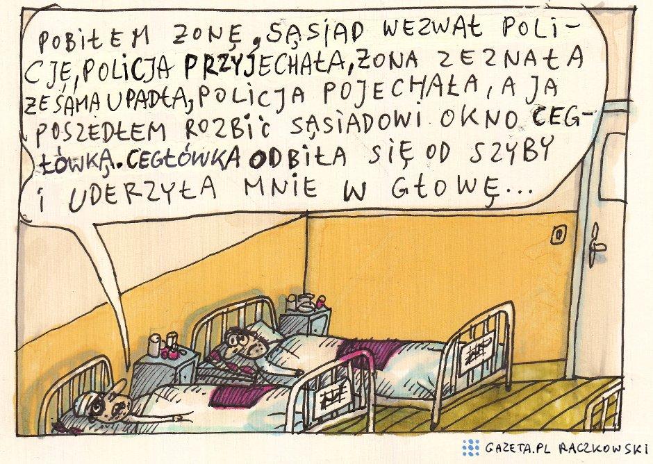 Marek Raczkowski dla Gazeta.pl - 30.04.2014 - rys. Marek Raczkowski