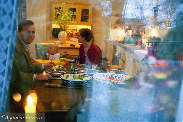 Radosław Sikorski, Anne Applebaum, Aleksander, Tadeusz, syn, synowie, dom, kuchnia, obiad, posiłek, jedzenie