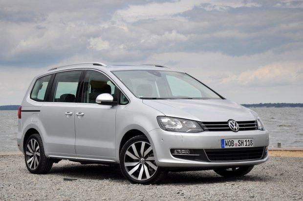 Volkswagen Sharan FL | Pierwsza jazda | Dla bezpiecze�stwa rodziny