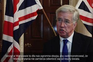 Minister Fallon: W.Brytania wyśle 150 żołnierzy na ćwiczenia do Polski