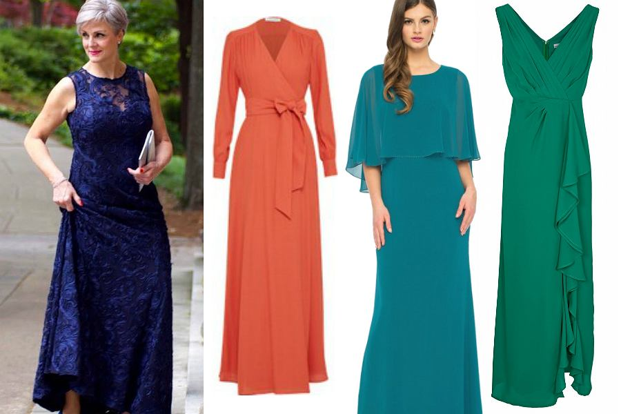 dcb7841551 Sukienki wizytowe dla dojrzałych pań