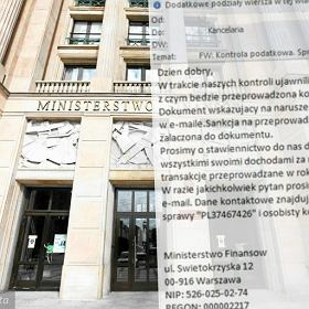 Ministerstwo Finans�w chce ci� �ciga� za ukrywanie dochod�w? To oszustwo