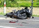 19-latka zginęła na motocyklu. Utrudnienia na trasie lubelskiej