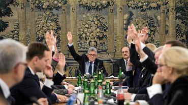 6.12.2017, Sejm. Obrady Komisji Sprawiedliwości i Praw Człowieka