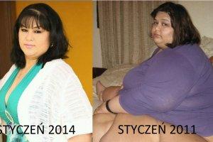 """W 2011 roku wa�y�a 544 kg. W 2014 ju� nieca�e 200. A dzi�? To niesamowite! """"Kiedy� �y�am, by je��. Dzi� jem, by �y�"""""""