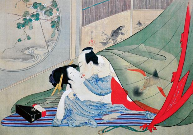 sztuka kochania, erotyka, Historia burdeli, Japońska koncepcja kutsawa