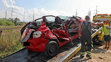 Wypadek w Szaflarach na przejeździe kolejowym. Podczas egzaminu na prawo jazdy zginęła 18-latka.