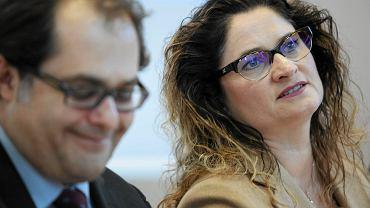 Minister gospodarki morskiej Marek Gróbarczyk i posłanka PiS Dorota Arciszewska-Mielewczyk