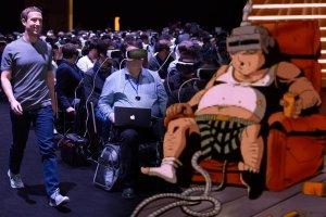 Zdjęcie Marka Zuckerberga to symbol zniewolenia przez technologię? Pan i władca oraz jego poddani