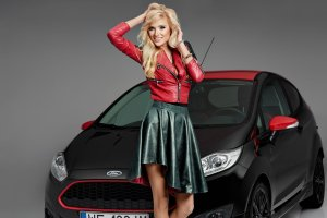 Agata i Ford Fiesta Black Edition