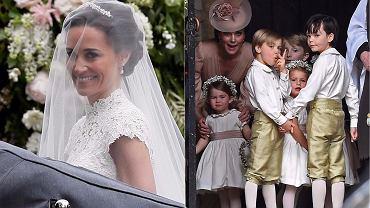Pippa Middleton i James Matthews wzięli ślub. Siostra księżnej Kate w tym ważnym dniu wyglądała naprawdę olśniewająco. A sama księżna? Zobaczcie naszą galerię.