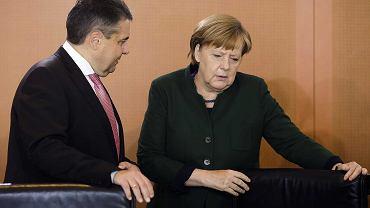 Angela Merkel, Sigmar Gabriel