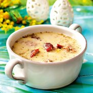 Zupa chrzanowa na �eberkach