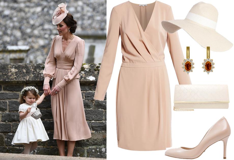 Stylizacja na wesele - Kate Middleton