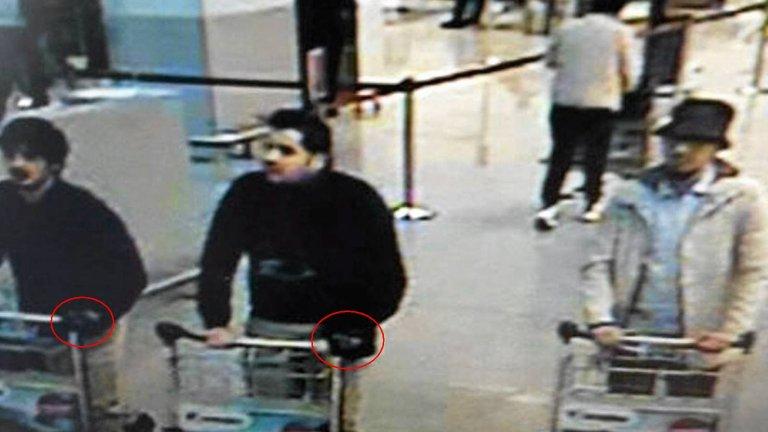 Podejrzewani o zamach na lotnisku w Brukseli