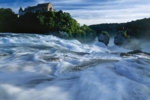 Prze�om Renu. Najwi�kszy wodospad w Europie
