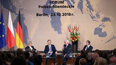 Prezent Andrzej Duda w Niemczech