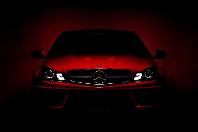 Mercedes C 63 AMG Coupe Black Series