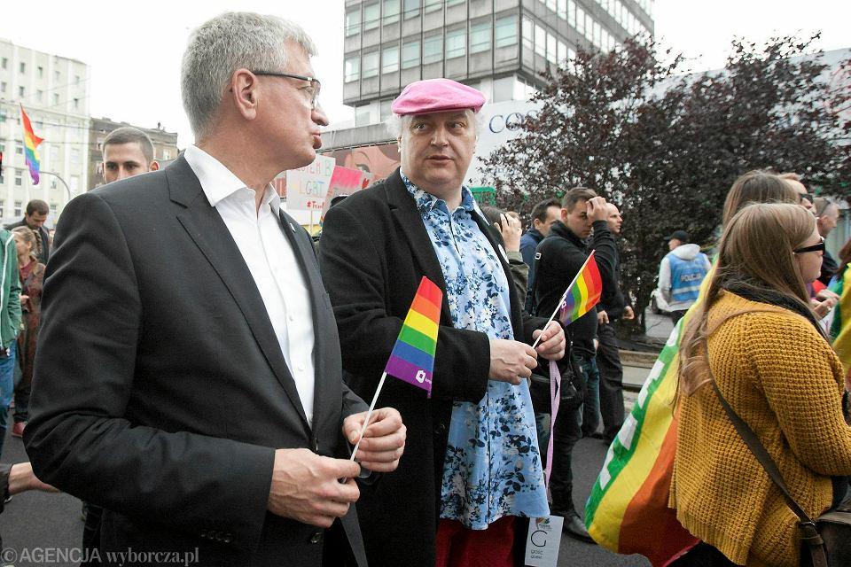 Znalezione obrazy dla zapytania Maciej Nowak marsz równości