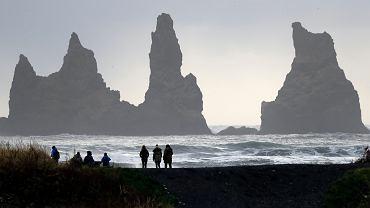 Islandia, niedaleko wulkanu Katla