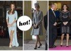Kate Middleton: Jeden tydzie�, trzy zupe�nie r�ne stylizacje ci��owe. Kt�ra najlepsza? [ZDJ�CIA]