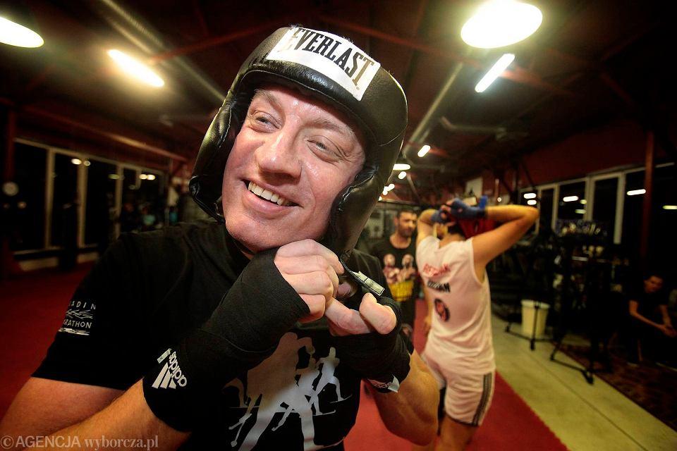 Zdjęcie numer 10 w galerii - Prezydent Poznania Jacek Jaśkowiak trenuje boks przed galą charytatywną [ZDJĘCIA]