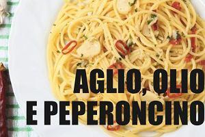Jak przyrządzić spaghetti Aglio, Olio e Peperoncino [łatwy przepis]