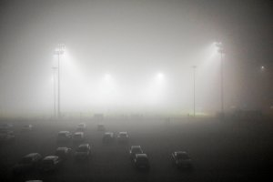 Pogoda w Poznaniu. Ławica odcięta przez mgłę