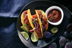 Wieprzowe tacos z keczupem �liwkowym
