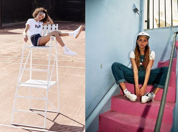 Powrót stylu retro w sportowym wydaniu. Plisowane mini spódnice i podkolanówki będą królować teraz na ulicach