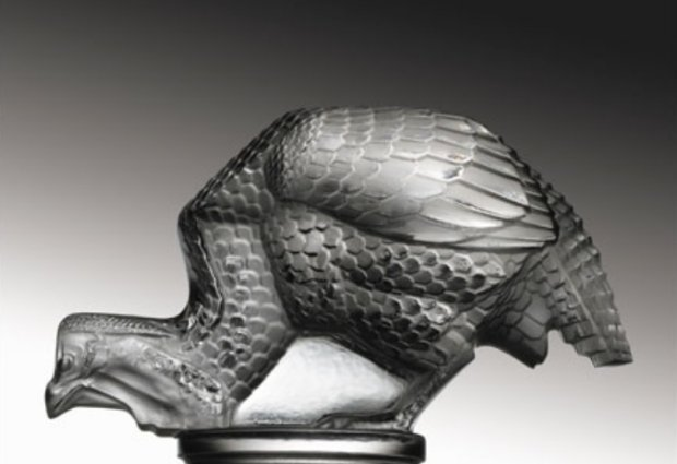 Figurka Perlicy Rene Lalique