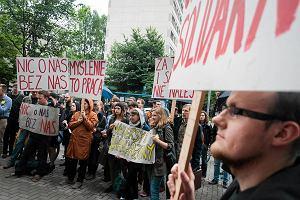 Preludium do �mierci nauki. Protest doktorant�w pod siedzib� NCN