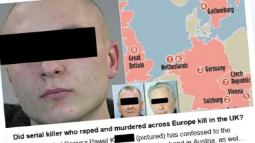 """Gwa�ci� i zabija� w wielu krajach. """"Pierwszy seryjny morderca Europy"""" to Polak? Trwaj� badania pr�bek DNA"""