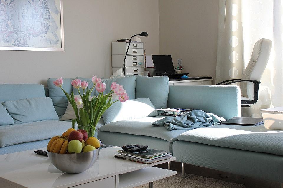 Niebieskie meble i dodatki w twoim domu for Innendekoration wohnzimmer