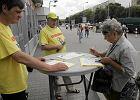 Zbiórka podpisów za referendum odwołującym Hannę Gronkiewicz-Waltz