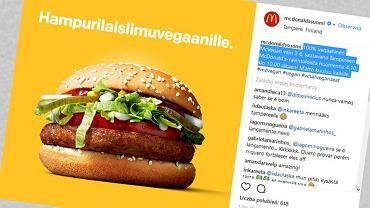 McDonald's zaskoczył wszystkich. Trwają testy... wegańskiego burgera. Będzie rewolucja?
