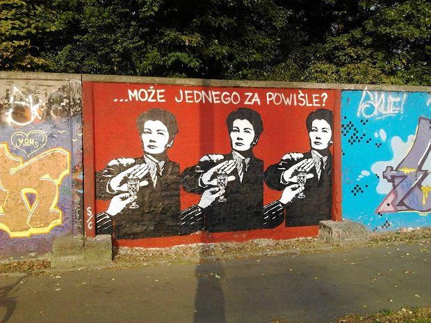 Hanna gronkiewicz waltz trafi a na mural 39 za powi le 39 for Mural ursynow