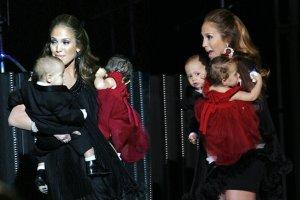Jennifer Lopez z dzie�mi