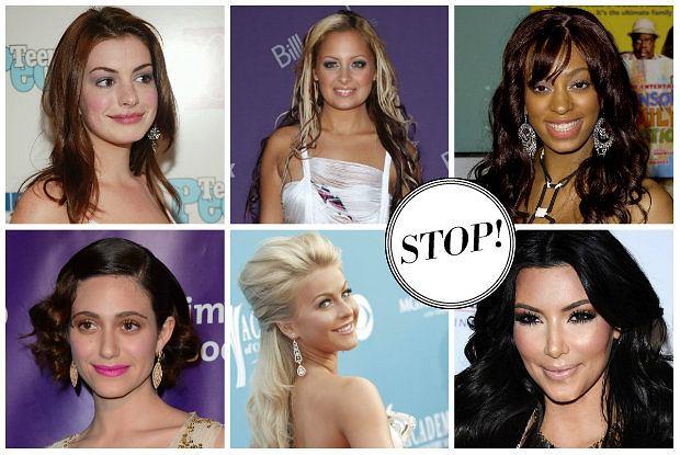 Tym gwiazdom uda�o si� poprawi� sw�j styl. Dzi�ki makija�owi i fryzurze zmieni�y si� nie do poznania