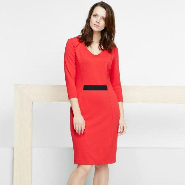 df7d92e55c Moda plus size  sukienki z wiosennej kolekcji Mango Violeta