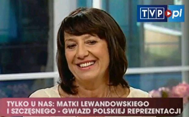 Robert Lewandowski, mama Iwona Lewandowska