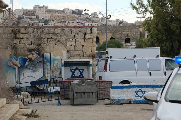 Część Hebronu niedostępna dla Palestyńczyków