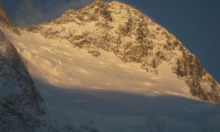Broad Peak - wierzchołek główny -  fot. A.Bielecki 20.07.2012