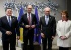 Po szczycie w Brukseli: UE wprowadza pierwsze sankcje. Umowa stowarzyszeniowa do maja